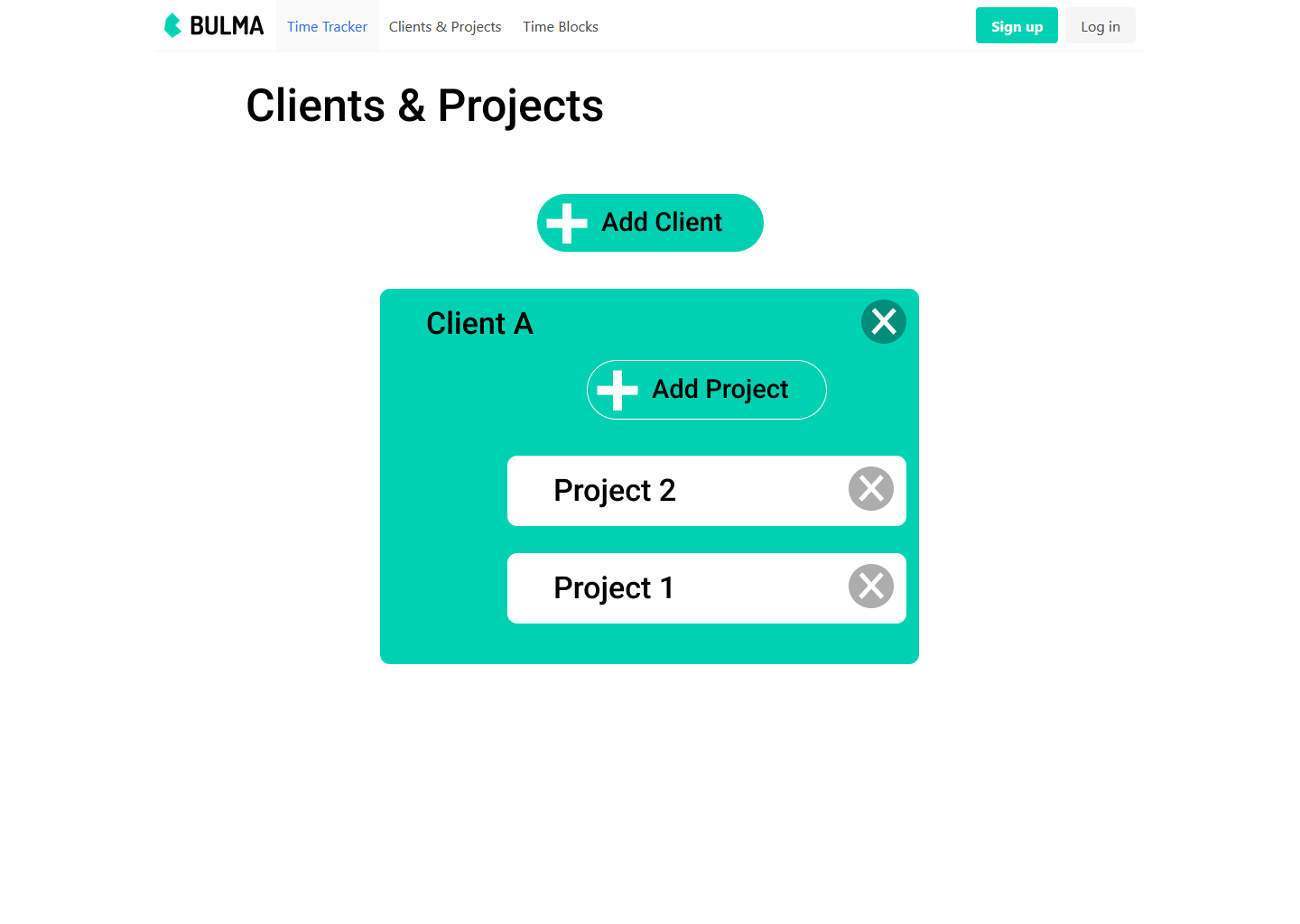 Design Clients & Projects